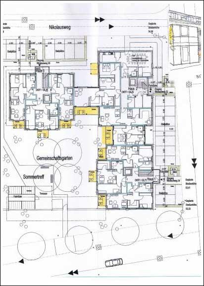 Die bremer stadtmusikanten m nster architektur for Haus plan